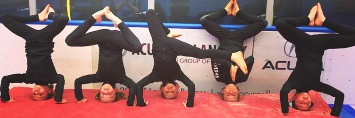 upside down girls